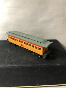 BACHMANN HO Scale, Union Pacific Railroad, Old Time Passenger Coach #7
