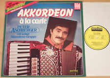 PETER ASCHBERGER - Akkordeon a la carte  (MARIFON 1981 / LP vg++/m-)