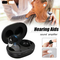 1 Pair Digital Mini Ear Hearing Aid Enhancer Sound Voice Amplifier Assist 2020
