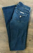 Hudson Beth Baby Boot Cut Jeans Stretch Flap Pockets size 27 (29 x 34.5)