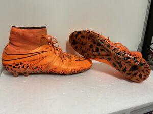 nike hypervenom mens football boots / trainers size uk 9 eu 4
