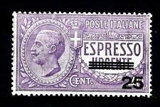 ITALIA - Regno - Espresso - 1917 - Espresso urgente (non emesso) sovrastampato