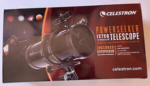 New Celestron PowerSeeker 127EQ Telescope 127mm