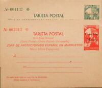 España. Cape Juby. Complete Postal. ( ) EP1/6 7/12ft 1933. 15 Cts Green And 25