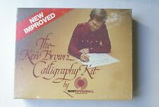 Ken Brown Calligraphy Kit #3078 By Hunt Speedball Complete in Retail Box