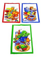 Textiles de cocina y comedor color principal multicolor 100% algodón