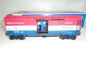 O Scale K-Line K7009 US Mail Operating Boxcar LN/Box