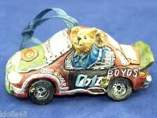 Boyd's Bears Bearstones Collection Big Ben Victory Lap Ornament #25745
