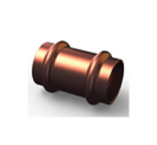 Copper Press Fitting, Slip Coupling Joiner WATER 40mm (CN1S-40 ) (Bag of 1)