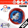 1500w Car Amplifier Wiring Kit 8 Gauge Amp Audio Subwoofer RCA Power Cable FUSE