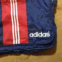 Rare Vintage Adidas retro 90`s three stripes blue red shoulder messenger bag
