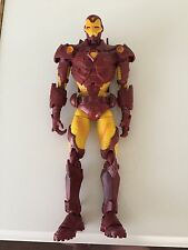 "Toy Biz Big Modern Armor Iron Man Marvel 2006 14"" inch tall Super Articulated"
