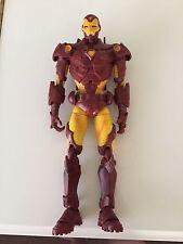 "Toy Biz Big Modern Armor Iron Man Marvel 2006 14"" inch tall Super Articulated"