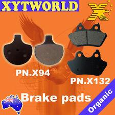 FRONT REAR Brake Pads for Harley Davidson FXSTSSE Springer Classic 2007