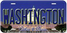 Washington DC Aluminum Auto Novelty Car License Plate