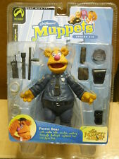 The Muppets Show series 6 PATROL BEAR action figure~Fozzie~Palisades Toys~MOSC