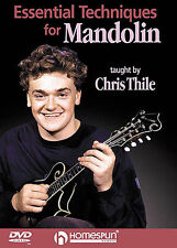 Essential Techniques Learn To Play Mandolin DVD Lesson TUTOR SCALES CHRIS THILE