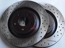 Fits Caliber SRT-4 Drilled Slotted or Slotted Brake Rotors Front Rear Set