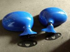 Door wing Mirror set, Mazda MX5 mk1 Eunos, l/h r/h pair, Mariner Blue, DU, NEW