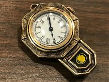 Watch Runs Really Well 17 Jewels Yellow Gold Antique Pin Or Pendant