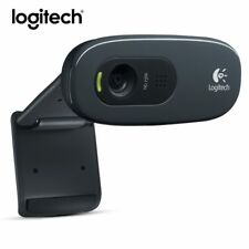 Logitech C270 Mini Webcam 720p USB 3 Mega HD Video for Smart TV PC Skype W/ MIC