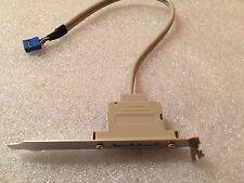 Scheda madre usb 2.0 cavo adattatore posteriore supporto pannello