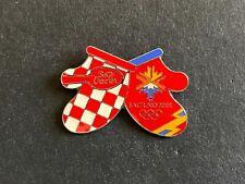 Vintage BETTY CROCKER Salt Lake 2002 Olympic Games Tie Tack Lapel Pin