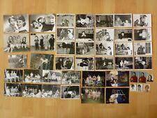 Konvolut Sammlung 44x altes Foto alte Fotos Kind Kinder Feier Garten ...