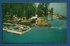 April Point Fishing Resort Campbell River B C, Traveltime, Grant-Mann Lithograph