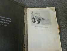 John Deere Jd510 Loader Backhoe Parts Catalog Manual Book Pc1240