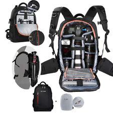 Large DSLR Camera Backpack Bag Rucksack Padded Insert Travel Bag for Canon Nikon