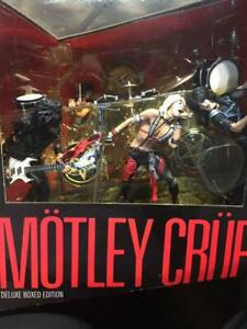 Motley Crue Band Set McFarlane Toys Action Figures A155