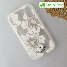 Kate Spade NY Hardshell Case for Palm Smartphone - Clear Hollyhock Floral Gems