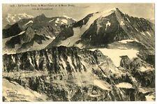 CPA 73 Savoie Massif de la Vanoise La Grande Casse Mont-Pourri et Mont-Blanc