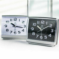 Classic Silent Alarm Clock Quartz Movement Battery Alarm Clock Home Desk Table