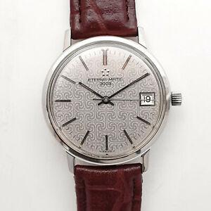 Eterna-Matic 3003 Stahl Herren Automatik  Date Armbanduhr aus den 1970er Jahren
