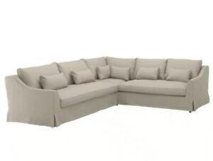 NEW IKEA FARLOV Sectional SofaCover Slipcover FLODAFORS BEIGE - 303.066.74