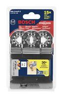 Bosch Starlock 1-1/4 x 4 in. L Bi-Metal Plunge Blade 3 pk OSL114JF-3