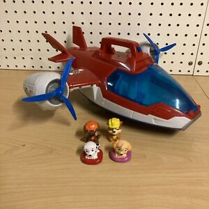 Paw Patrol Lights and Sounds Air Patroller Plane Helicopter Toy with figures