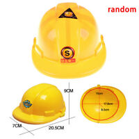 1pc Simulation Safety Helmet Pretend Role Play Hat Toy Construction HOT HC