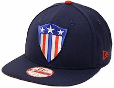 New Era 9Fifty Captain America Shield Navy Snapback The Avengers Civil War 3D