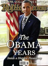 Rolling Stone Magazine Collectors Edition 2016 Historic THE BARRACK OBAMA YEARS