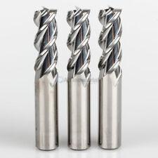 "3 Pcs 1/4"" YG1 Alu-Power 3 Flute Regular Length Carbide End Mill for Aluminum"