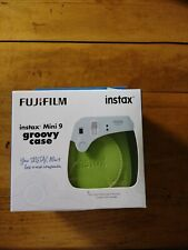 Fujifilm Instax Groovy Camera Case for Instax Mini 9 - Lime Green