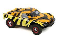 Custom Body Fierce Tiger Style for Traxxas 1/10 Slash Truck Car Shell Cover 1:10