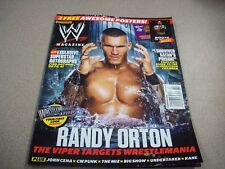 WWE Magazine February 2012  Randy Orton w/Poster