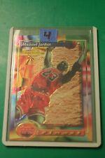 1993-94 Topps Finest Michael Jordan #1 Card - Non Refractor - Ungraded - MINT