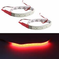 2PCS Red 30CM 3528 32 LED Knight Rider Flash Strobe Scanner Neon Strip Light