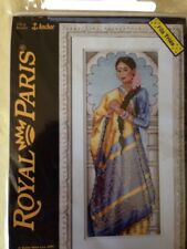 Indienne counted cross stitch kit, Royal Paris / Anchor sealed