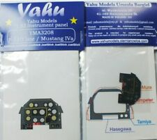 Yahu Models 1/32 North-American P-51D Mustang Photoetched Instrument Panels